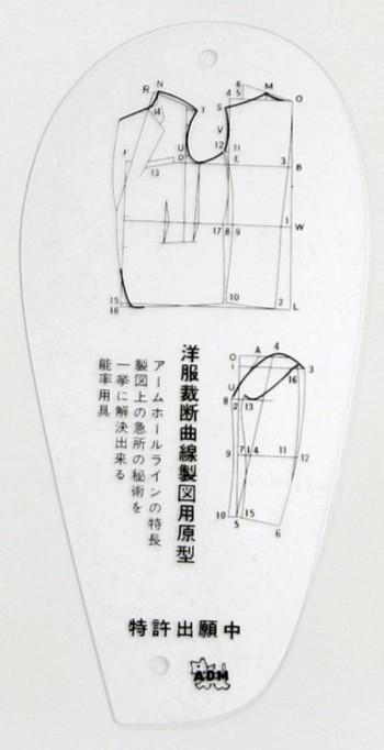Armlochschablone